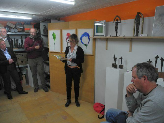 Werkstattausstellung mit Lesung