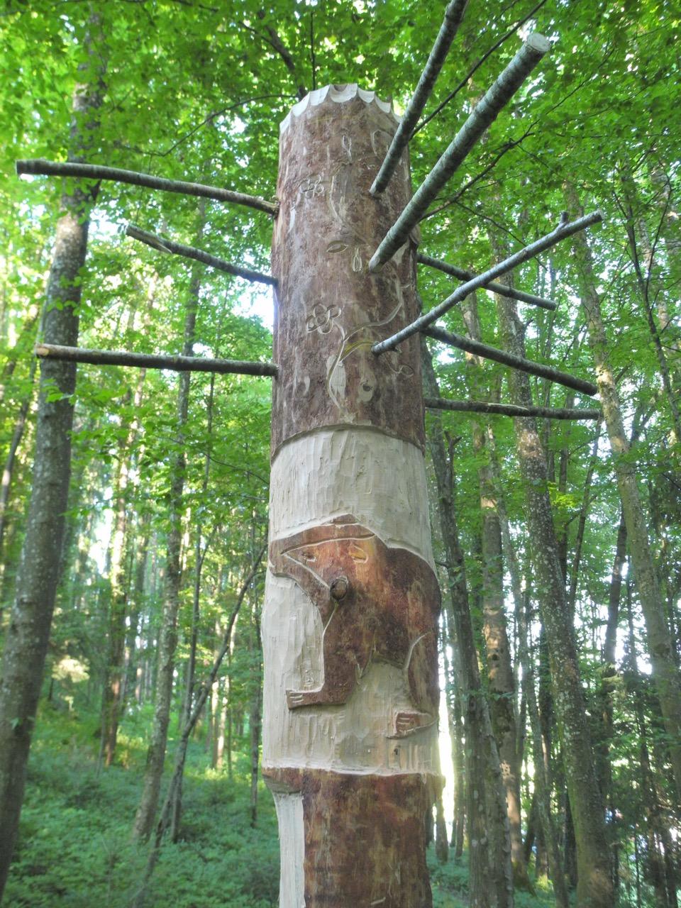 Waldskulptur, Rott am Inn