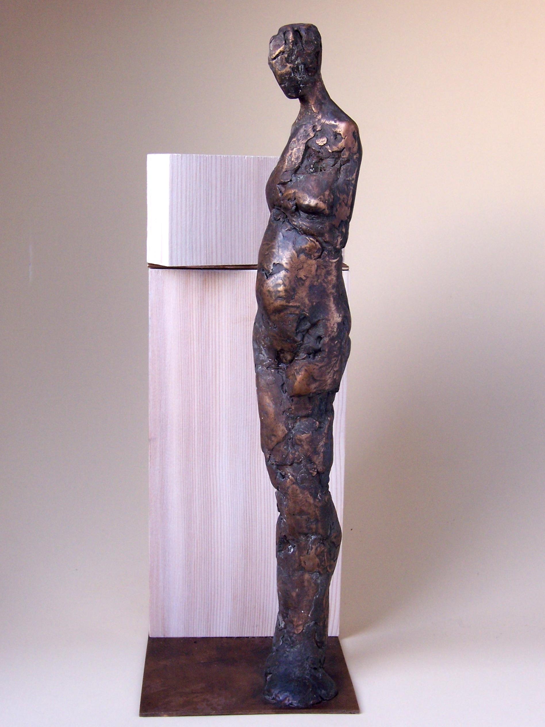 Frau mit Hintergrund III